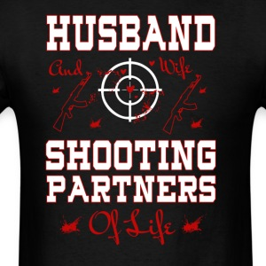 Husband And Wife Shooting Partners Of Life T Shirt - Men's T-Shirt
