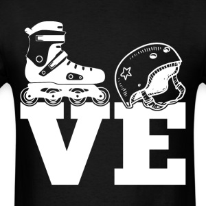 I Love Skating T Shirt - Men's T-Shirt
