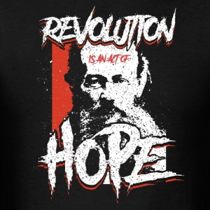 Kropotkin - Revolution Is Hope - Men's T-Shirt