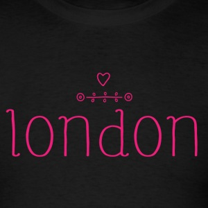 London Love Simple - Men's T-Shirt