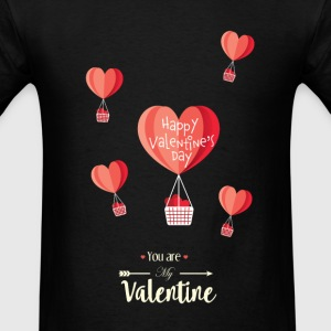 Happy Valentines Day - Men's T-Shirt