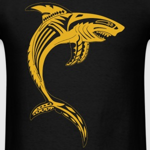 Inspirational - Golden Maori Shark Inspirational - Men's T-Shirt