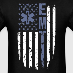 EMT Flag Shirts - Men's T-Shirt