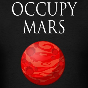Occupy Mars Space - Men's T-Shirt