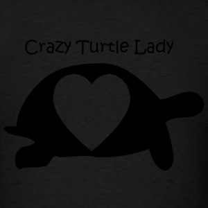 Crazy Turtle Lady - Men's T-Shirt