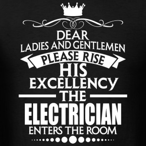 ELECTRICIAN - EXCELLENCY - Men's T-Shirt