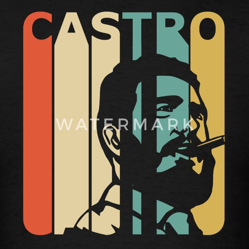 Retro Castro - Men's T-Shirt