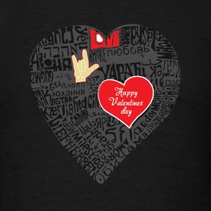 Valentine Tshirt - Men's T-Shirt