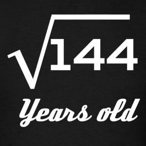 Square Root Of 144 12 Years Old - Men's T-Shirt