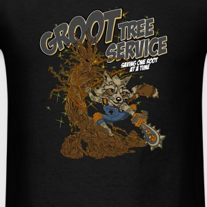 Groot Tree Service - Men's T-Shirt