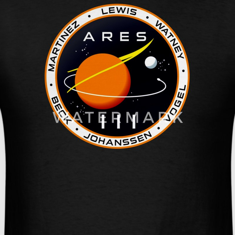 Ares 3 mission to Mars The Martian - Men's T-Shirt