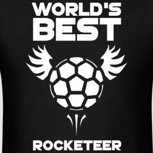 World's Best Rocketeer - Men's T-Shirt