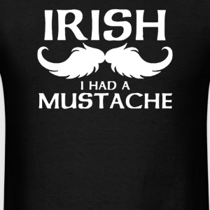 Irish Mustache - Men's T-Shirt