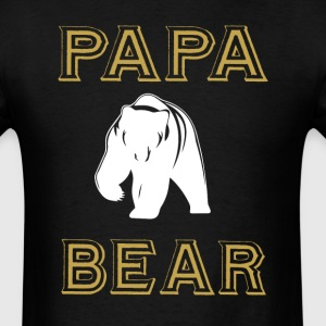 Cool Papa Bear T Shirt - Men's T-Shirt