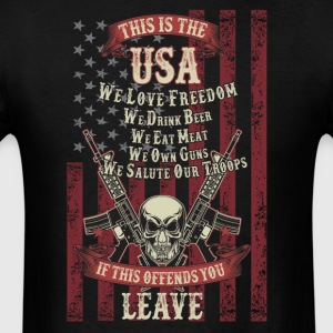 This is the usa - Men's T-Shirt
