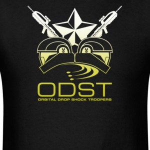 Orbital drop shock troopers - Men's T-Shirt
