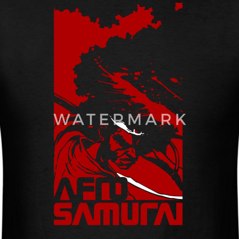 afro samurai - Men's T-Shirt