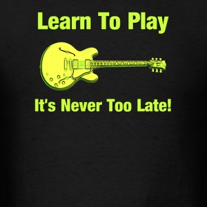 Learn To Play Electric Guitar - Men's T-Shirt