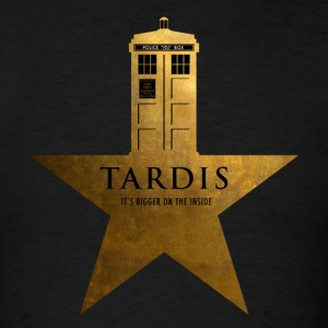 TARDIS - It's Bigger on the Inside - Men's T-Shirt