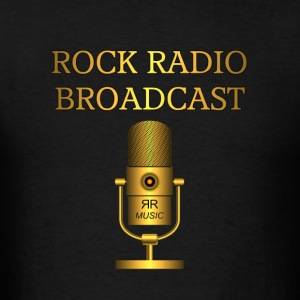 Rock Radio Broadcast Gold - Men's T-Shirt