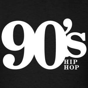 Hip Hop - 90's Old School Hip Hop Throwback Vin - Men's T-Shirt