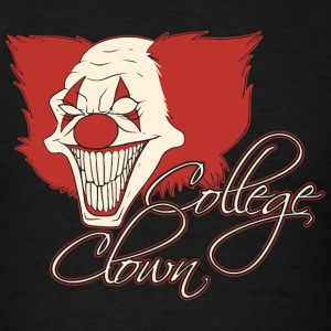 Clown - College Clown - Men's T-Shirt