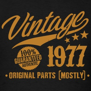 1977 - 41st Birthday Gift Vintage 41 Years Old - Men's T-Shirt