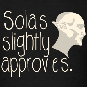 Dragon age - Solas Slightly Approves - Men's T-Shirt