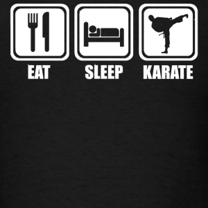Karate - Eat Sleep Karate - Men's T-Shirt