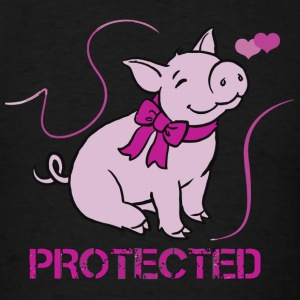Pig - Protected - Men's T-Shirt