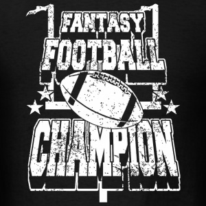 Football - fantasy football champion - Men's T-Shirt