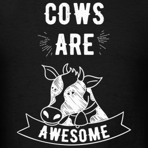 Cow - Cows Are Awesome - I Love Cows - Men's T-Shirt