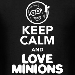 LOVE MINION - KEEP CALM AND LOVE MINIONS - Men's T-Shirt