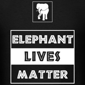 Elephant - Elephant Lives Matter - Men's T-Shirt