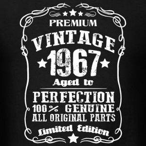 1967 - Vintage Age 50 Years 1967 Perfect 50th Bi - Men's T-Shirt