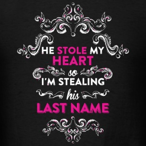 Husband - He Stole My Heart So I'm Stealing His - Men's T-Shirt