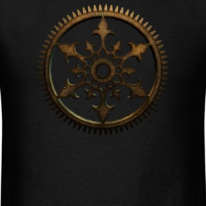 Steampunk Cog - Men's T-Shirt