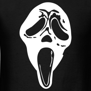 Scream Mask Halloween - Men's T-Shirt