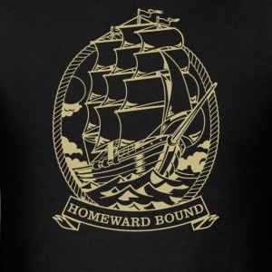 Homeward Bound Ship - Men's T-Shirt