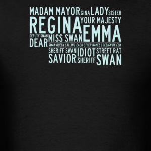Regina your majesty deputy swan - Men's T-Shirt