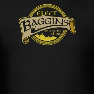 Elect baggins for a better - Men's T-Shirt