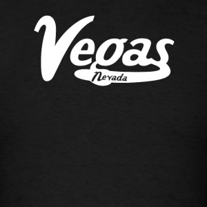 Las Vegas Nevada Vintage Logo - Men's T-Shirt