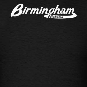 Birmingham Alabama Vintage Logo - Men's T-Shirt