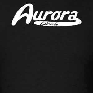 Aurora Colorado Vintage Logo - Men's T-Shirt