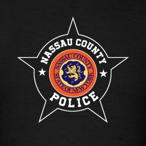 Nassau County Police T Shirt - Nassau County flag - Men's T-Shirt
