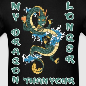 My dragon longer than your - Men's T-Shirt
