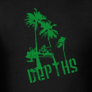 DEPTHS Palm trees - Men's T-Shirt