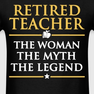 Retired Teacher T Shirt - Men's T-Shirt