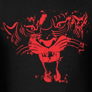 Red TIGER FACE - Men's T-Shirt