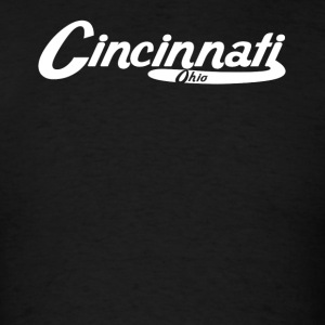 Cincinnati Ohio Vintage Logo - Men's T-Shirt
